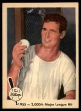 1959 Fleer Ted Williams #56 1955 - 2,000th Major League Hit NM+