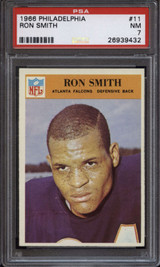 1966 Philadelphia #11 Ron Smith PSA 7 Near Mint RC Rookie ID: 135412