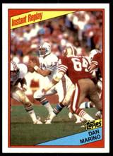 1984 Topps #124 Dan Marino IR NM-Mint