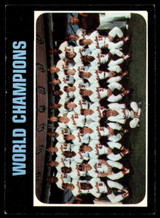 1971 Topps #1 World Champions Orioles Excellent+  ID: 174167