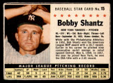 1961 Post Cereal #15 Bobby Shantz Good  ID: 280111