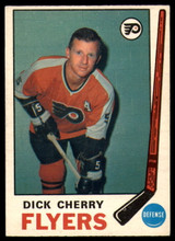 1969-70 O-Pee-Chee #173 Dick Cherry Excellent+ RC Rookie