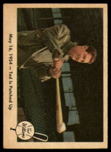 1959 Fleer Ted Williams #51 May 16, 1954 - Ted Is Patched Up EX/NM