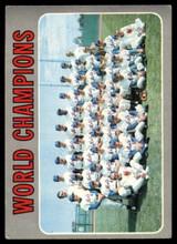 1970 Topps #1 World Champions Mets VG Very Good  ID: 123925