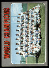 1970 Topps #1 World Champions Mets Very Good  ID: 159038
