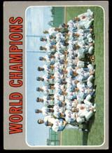 1970 Topps #1 World Champions Mets Very Good  ID: 159039