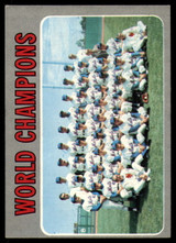 1970 Topps #1 World Champions Mets Very Good  ID: 150371