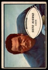 1953 Bowman #8 Sisto Averno VG Very Good