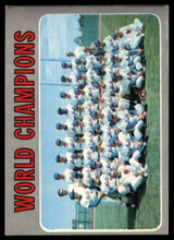 1970 Topps #1 World Champions Mets VG Very Good  ID: 125296