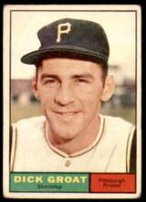1961 Topps #1 Dick Groat Very Good  ID: 197503