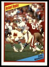 1984 Topps #124 Dan Marino IR Near Mint  ID: 151466