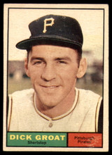 1961 Topps #1 Dick Groat Very Good  ID: 132015