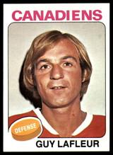 1975-76 Topps #126 Guy Lafleur UER NM-MT  ID: 108008