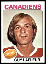 1975-76 Topps #126 Guy Lafleur UER NM-MT  ID: 108009