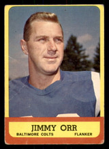 1963 Topps #3 Jimmy Orr Very Good