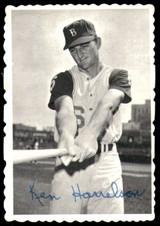 1969 Topps Deckle Edge #3 Ken Harrelson Very Good  ID: 264842