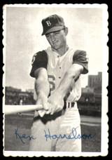 1969 Topps Deckle Edge #3 Ken Harrelson Very Good  ID: 264843