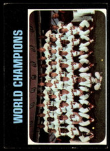 1971 Topps #1 World Champions Orioles Very Good  ID: 150408