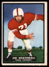 1951 Topps #12 Jim Weatherall Very Good Magic