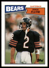 1987 Topps #45 Doug Flutie NM-Mint RC Rookie ID: 151569