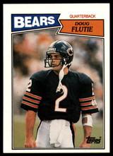 1987 Topps #45 Doug Flutie NM-Mint RC Rookie ID: 151571