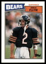 1987 Topps #45 Doug Flutie NM-Mint RC Rookie ID: 151575
