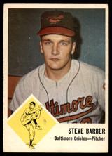 1963 Fleer #1 Steve Barber Very Good  ID: 136540