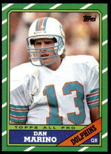 1986 Topps #45 Dan Marino Near Mint+