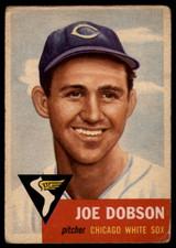 1953 Topps #5 Joe Dobson G/VG Good/Very Good