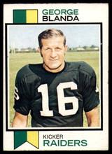 1973 Topps #25 George Blanda Ex-Mint  ID: 178864