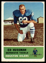 1962 Fleer #55 Ed Husmann UER Near Mint  ID: 168217