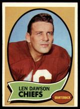 1970 Topps #1 Len Dawson UER VG Very Good