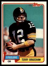 1981 Topps #375 Terry Bradshaw Near Mint+  ID: 151430