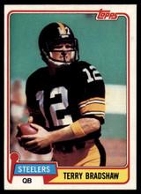 1981 Topps #375 Terry Bradshaw Near Mint+  ID: 151431