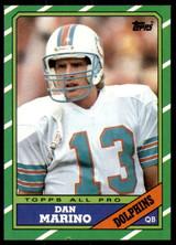 1986 Topps #45 Dan Marino Near Mint  ID: 187531