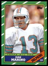 1986 Topps #45 Dan Marino Near Mint  ID: 187533