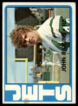 1972 Topps #13 John Riggins Very Good RC Rookie ID: 131835