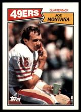 1987 Topps #112 Joe Montana NM-Mint  ID: 151567