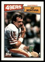 1987 Topps #112 Joe Montana NM-Mint  ID: 151568