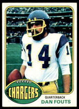 1976 Topps #128 Dan Fouts Excellent