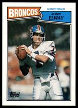 1987 Topps #31 John Elway NM-Mint  ID: 151576