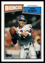1987 Topps #31 John Elway NM-Mint  ID: 151579