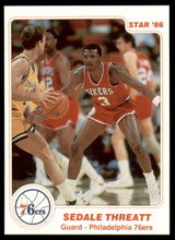 1985-86 Star #7 Sedale Threatt NM-Mint  ID: 231674