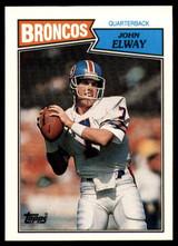 1987 Topps #31 John Elway NM-Mint  ID: 151581