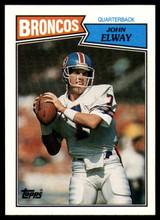 1987 Topps #31 John Elway NM-Mint  ID: 151582