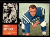 1962 Topps #6 Steve Myhra Very Good