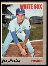 1970 O-Pee-Chee #35 Joe Horlen Ex-Mint