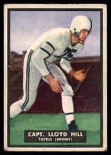 1951 Topps #11 Lloyd Hill Very Good Magic ID: 137640