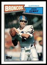 1987 Topps #31 John Elway NM-Mint  ID: 187566