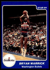 1983-84 Star #215 Bryan Warrick Ex-Mint
